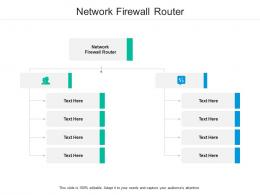Network Firewall Router Ppt Powerpoint Presentation File Inspiration Cpb