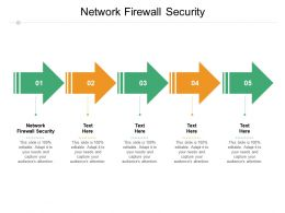 Network Firewall Security Ppt Powerpoint Presentation Styles Professional Cpb