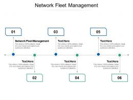 Network Fleet Management Ppt Powerpoint Presentation Outline Graphic Images Cpb