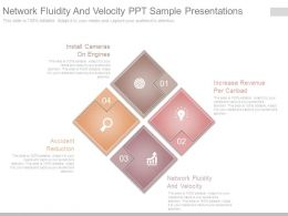 Network Fluidity And Velocity Ppt Sample Presentations