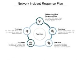 Network Incident Response Plan Ppt Powerpoint Presentation Infographic Template Master Slide Cpb