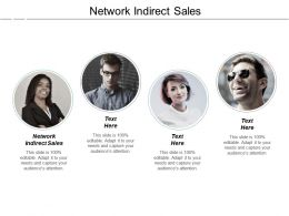 Network Indirect Sales Ppt Powerpoint Presentation Infographics Slideshow Cpb