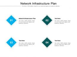 Network Infrastructure Plan Ppt Powerpoint Presentation Infographic Template Clipart Cpb