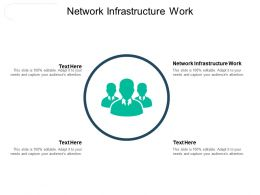Network Infrastructure Work Ppt Powerpoint Presentation Visual Aids Slides Cpb