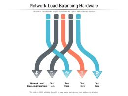 Network Load Balancing Hardware Ppt Powerpoint Presentation Infographics Slide Cpb