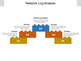 Network Log Analysis Ppt Powerpoint Presentation Ideas Introduction Cpb