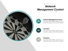 Network Management Control Ppt Powerpoint Presentation Professional Icon Cpb