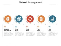 Network Management Ppt Powerpoint Presentation Professional Grid Cpb