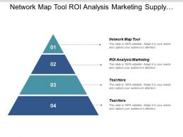 Network Map Tool Roi Analysis Marketing Supply Chain Cpb
