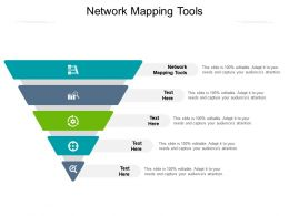 Network Mapping Tools Ppt Powerpoint Presentation Portfolio Themes Cpb