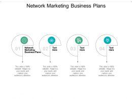 Network Marketing Business Plans Ppt Powerpoint Presentation Professional Design Ideas Cpb