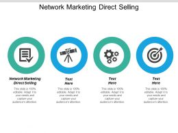 Network Marketing Direct Selling Ppt Powerpoint Presentation Styles Graphic Tips Cpb