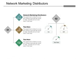 Network Marketing Distributors Ppt Powerpoint Presentation Pictures Themes Cpb