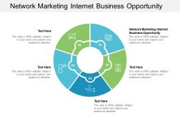Network Marketing Internet Business Opportunity Ppt Powerpoint Presentation Portfolio Cpb