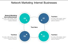 Network Marketing Internet Businesses Ppt Powerpoint Presentation Styles Show Cpb