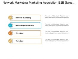 Network Marketing Marketing Acquisition B2b Sales Lead Generation Cpb