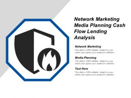 Network Marketing Media Planning Cash Flow Lending Analysis Cpb