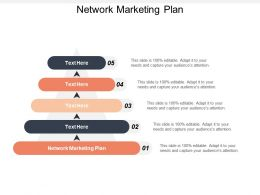 Network Marketing Plan Ppt Powerpoint Presentation Gallery Background Cpb