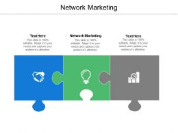 Network Marketing Ppt Powerpoint Presentation Ideas Background Image Cpb