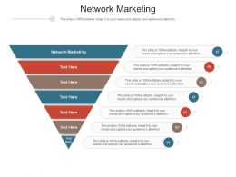 Network Marketing Ppt Powerpoint Presentation Outline Slide Cpb