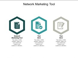 Network Marketing Tool Ppt Powerpoint Presentation Outline Shapes Cpb