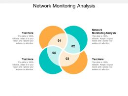 Network Monitoring Analysis Ppt Powerpoint Presentation Outline Template Cpb