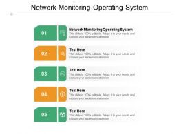 Network Monitoring Operating System Ppt Powerpoint Presentation Portfolio Gallery Cpb