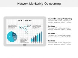Network Monitoring Outsourcing Ppt Powerpoint Presentation Layouts Maker Cpb