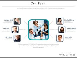 Network Of Teams For Business Improvement Powerpoint Slides