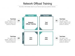 Network Offload Training Ppt Powerpoint Presentation Ideas Deck Cpb