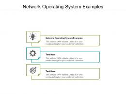Network Operating System Examples Ppt Powerpoint Presentation Infographic Template Gridlines Cpb