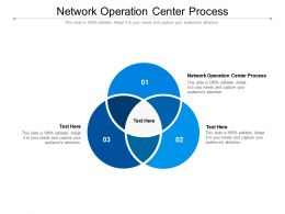 Network Operation Center Process Ppt Powerpoint Presentation Professional Clipart Cpb