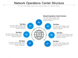 Network Operations Center Structure Ppt Powerpoint Presentation Inspiration Examples Cpb