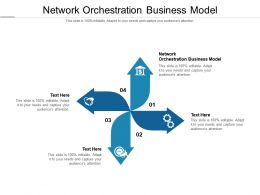 Network Orchestration Business Model Ppt Powerpoint Presentation Infographic Template Example 2015 Cpb