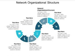 Network Organizational Structure Ppt Powerpoint Presentation Professional Tips Cpb