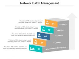 Network Patch Management Ppt Powerpoint Presentation File Graphic Images Cpb