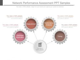 Network Performance Assessment Ppt Samples