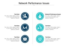 Network Performance Issues Ppt Powerpoint Presentation Layouts Introduction Cpb