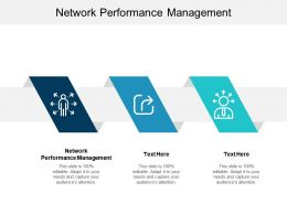 Network Performance Management Ppt Powerpoint Presentation Gallery Layouts Cpb