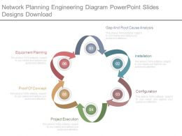 Network Planning Engineering Diagram Powerpoint Slides Designs Download