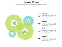 Network Power Ppt Powerpoint Presentation Infographic Template Examples Cpb