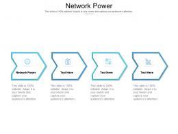 Network Power Ppt Powerpoint Presentation Model Skills Cpb