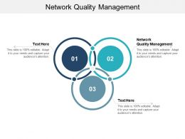 Network Quality Management Ppt Powerpoint Presentation Inspiration Templates Cpb