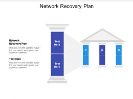 Network Recovery Plan Ppt Powerpoint Presentation Inspiration Samples Cpb