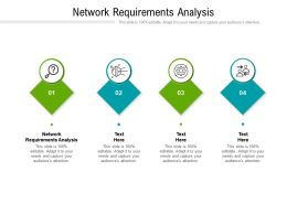 Network Requirements Analysis Ppt Powerpoint Presentation Outline Display Cpb