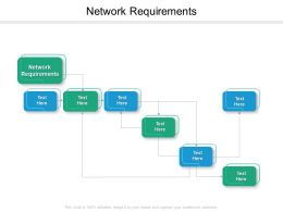 Network Requirements Ppt Powerpoint Presentation Summary Format Ideas Cpb