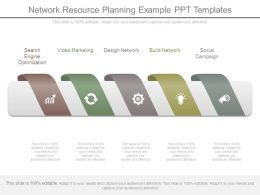 Network Resource Planning Example Ppt Templates