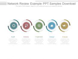 Network Review Example Ppt Samples Download
