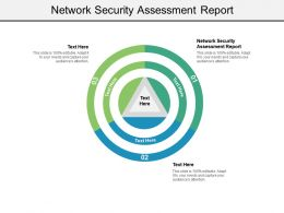 Network Security Assessment Report Ppt Powerpoint Presentation Slides Visuals Cpb