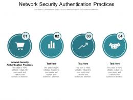 Network Security Authentication Practices Ppt Powerpoint Presentation Inspiration Cpb